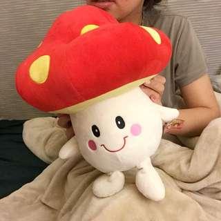 香菇造型大玩偶