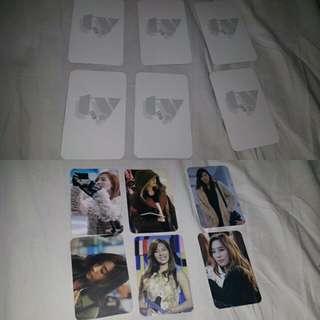 snsd taeyeon fansite photocard