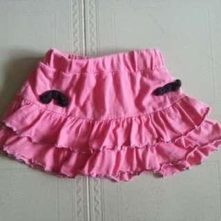 女童 蛋糕褲裙