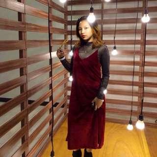 Velvet 2-in-1 Dress