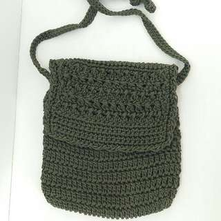 Bali Knitted Sling Bag