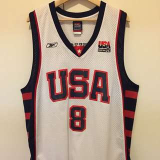 Reebok Team USA Carmelo Anthony Jersey - Sz L