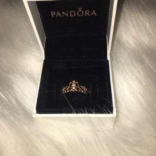 Rose Gold Princess Ring
