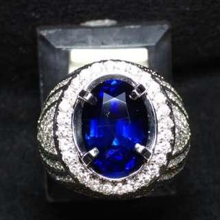 Blue Safir Burma NH. Vivid