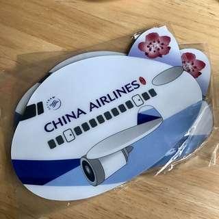 ✈️中華航空 華航飛機造型Q版滑鼠墊 含運費50元😱