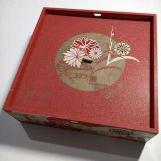 Wadah Kotak Mooncake Hei Yue Thong