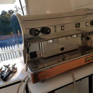 San Marino Coffee Machine 2 GROUP Handle Commercial Use