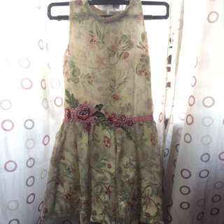 REPRICED!! Preloved Peppermint Dress
