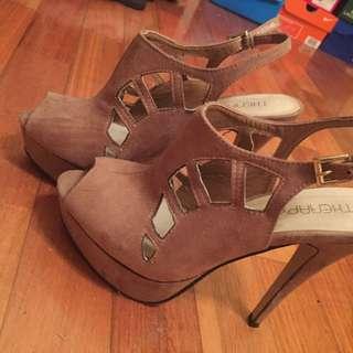 Size 8 Open Toe Heels