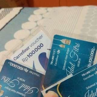 SALE!! Voucher Carrefour (gratis ongkir)