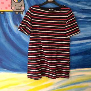 Uniqlo Striped T Dress