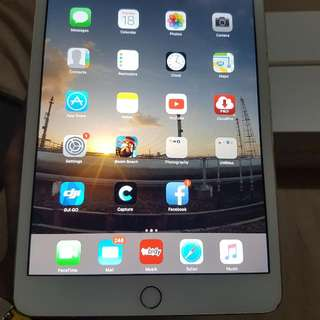 Ipad Mini 3 Wifi 16GB Gold