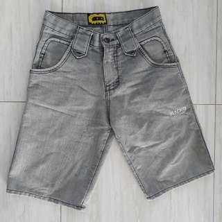 Black Id Short Jeans