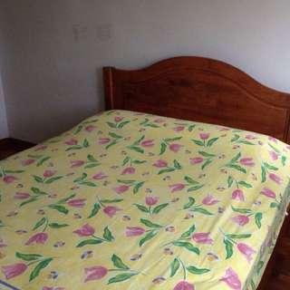 Queen Size Bed & Latex Mattress