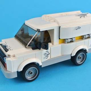 Lego Truck From 76083