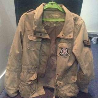 Glassons Jacket Military Style