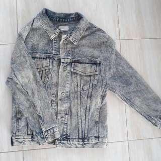 Jacket Washed Jeans