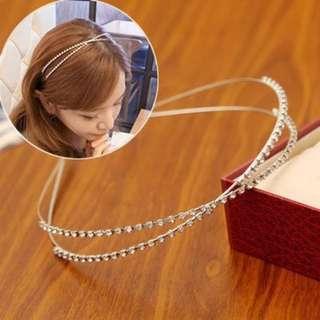多款 全新水晶珍珠 頭箍 包郵
