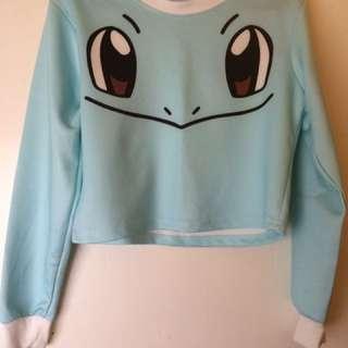 Pokemon Long sleeve-Crop Top