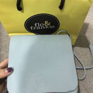 Pale Blue Bag