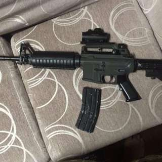 JG M4A1 Airsoft With Tasco Scope