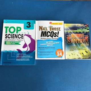 PSLE Lower Block Science Assessment Books (P3/4)