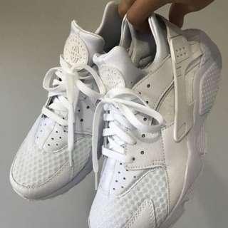 Nike Triple White Huarache