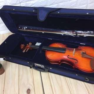 4/4全新小提琴