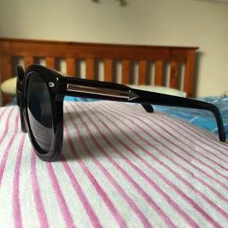 Black Silver Arrow Sunglasses