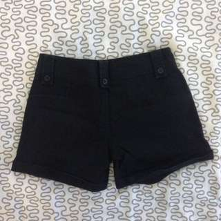 Basic Black Shorts