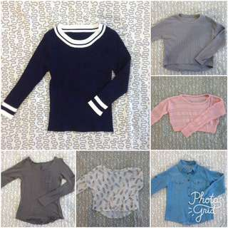 SALE! 2 For 290 Long Sleeves Top