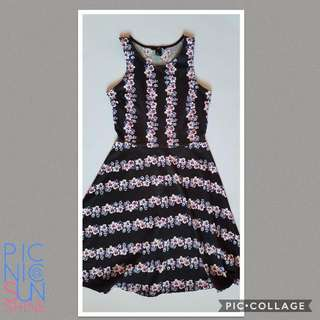 H&M floral Swing Dress. Small. Never Used.