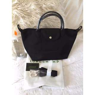 Longchamp Neo Small Black Bag (New, Genuine and On Hand for Shipping)