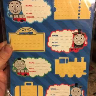 Sticker Labels 🚂 Thomas Tank Engine & Friends - Free