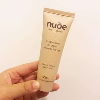 nude by nature Undercover Airbrush Mineral Primer