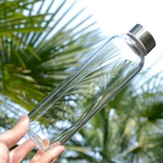 Borosilicate Glass bottle ($7.50) Pay $2 For Registered Mail Only. Free Delivery For 3 Pcs & Above