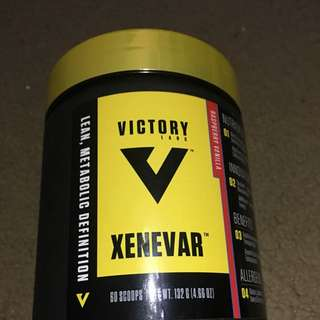 Xenevar - Fat Burner - Raspberry Vanilla