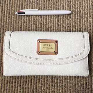 White+Pink GUESS Wallet
