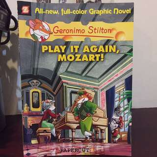 Geronimo Stilton All-new, Full-color Graphic Novel