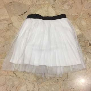 H&M Divided Curtain Skirt