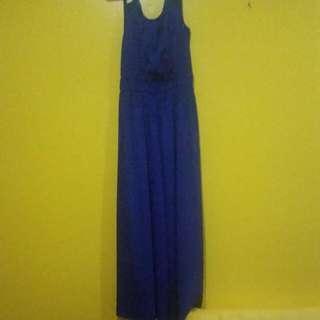 Royal Blue Wide-leg Jumpsuit