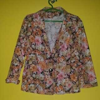 Floral Formal Blazer