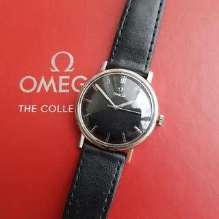 Omega Vintage Black Dial