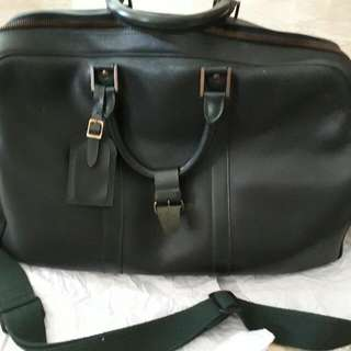 Louis Vuitton Leather Luggage Bag