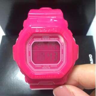 CASIO BABY G 粉紅運動手錶 BG-5601-4 BG 5601