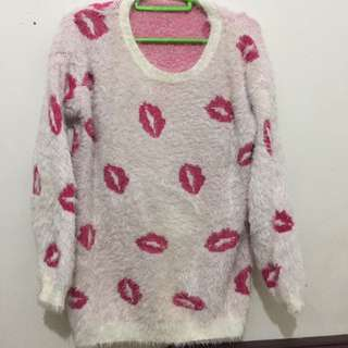 Sweater Pink Kisses #ClearanceSale
