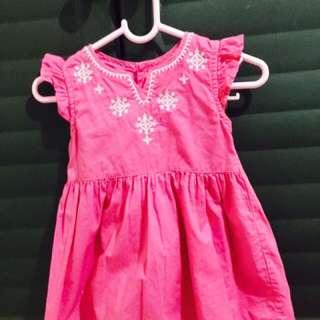 Carter's Pink Dress (6 months)