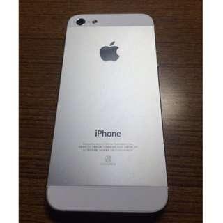 Iphone 5 銀 16g