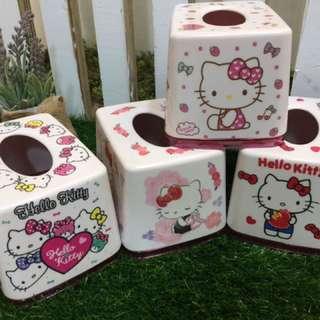 🚚 New!!Melody 美樂蒂 厚款壓克力 面紙的家kitty適用小包方型面紙系列喔