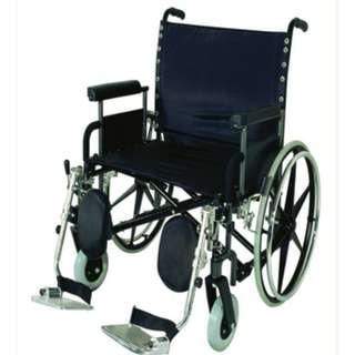 """WCDE2811P Atlas 28"""" Deluxe Obese Wheelchair"""